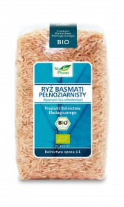 Ryż Basmati Pełnoziarnisty Bio Planet 500 g