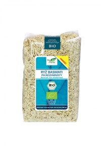 Ryż Basmati Pełnoziarnisty 1 kg Bio Planet